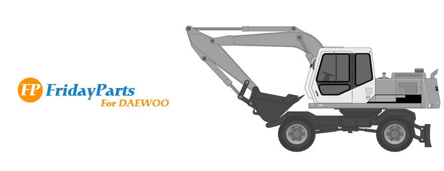 daewoo digger parts